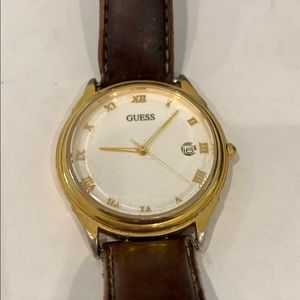 Guess gold vintage watch